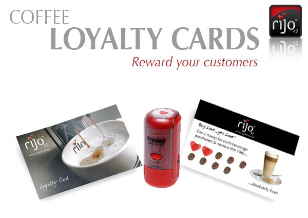 rijo42 Coffee Loyalty Cards