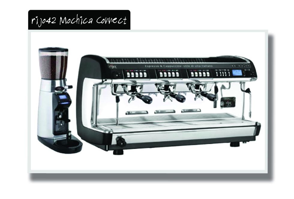 rijo42 Mochica Connect Traditional Espresso Machines