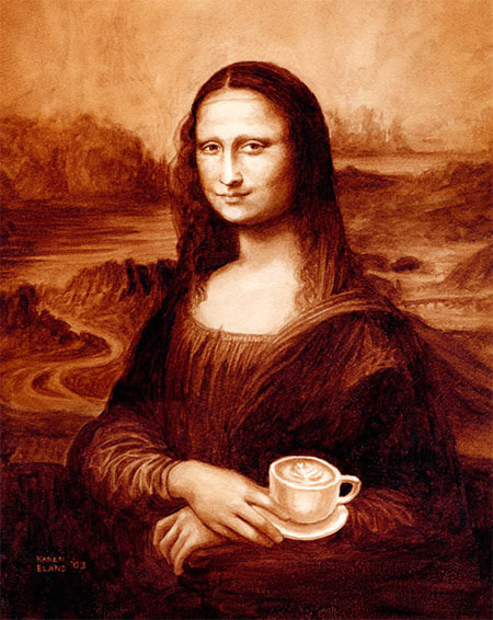 The Mona Latte?