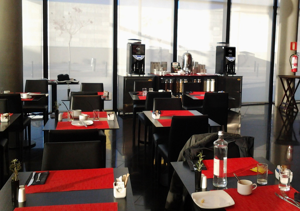 Brasil Bean to Cup Coffee Machines in Spiral Restaurant