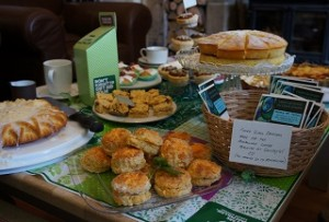 What makes you feel better than coffee and cake? Coffee and cake for charity, of course.