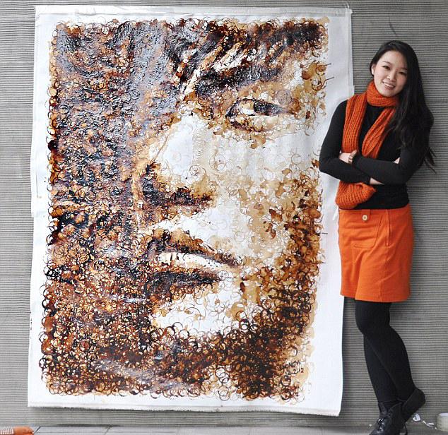 Hong Yi Coffee Painting
