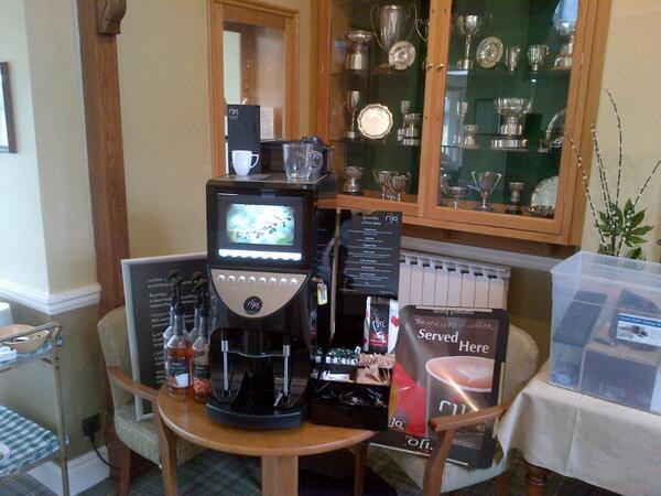 Brasil RSD Commercial Coffee Machine Demonstration