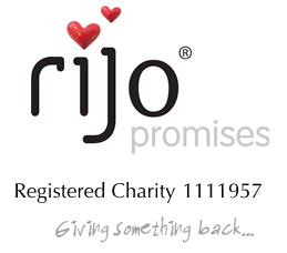 rijo Promises Registered Charity Logo