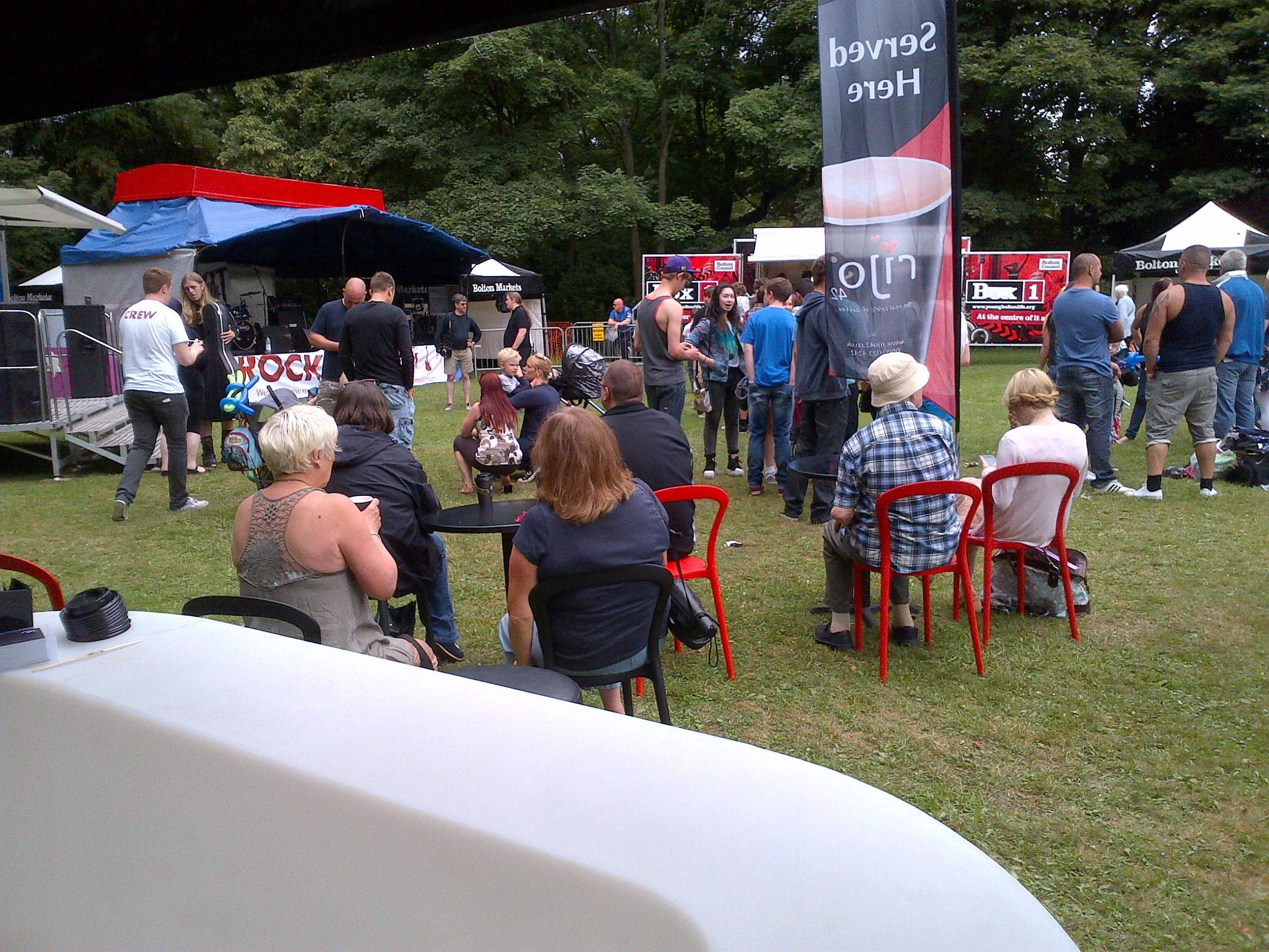 rijo42 At Rock It! Music Festival Queens Park Bolton