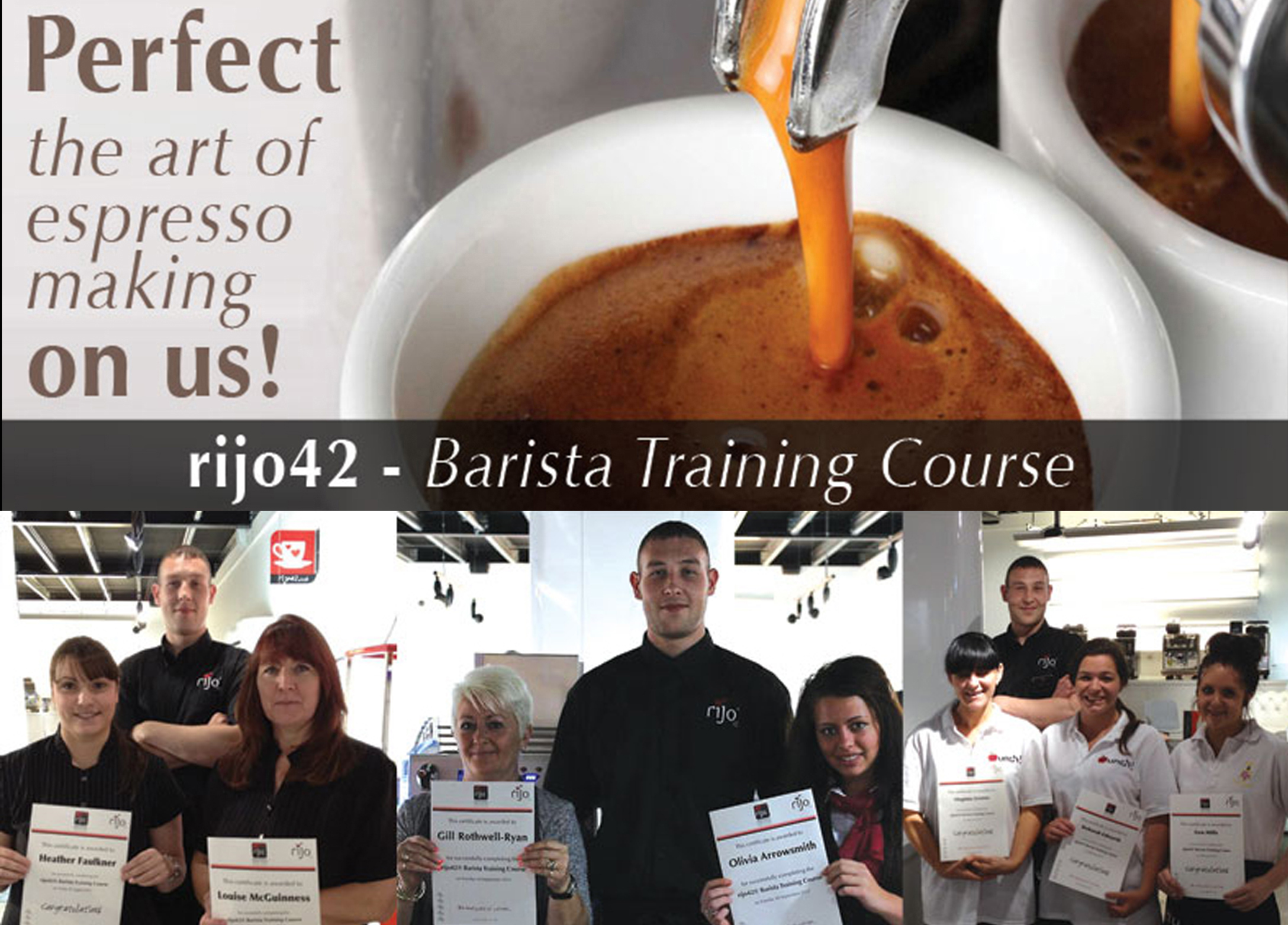 rijo42 Barista Training Course