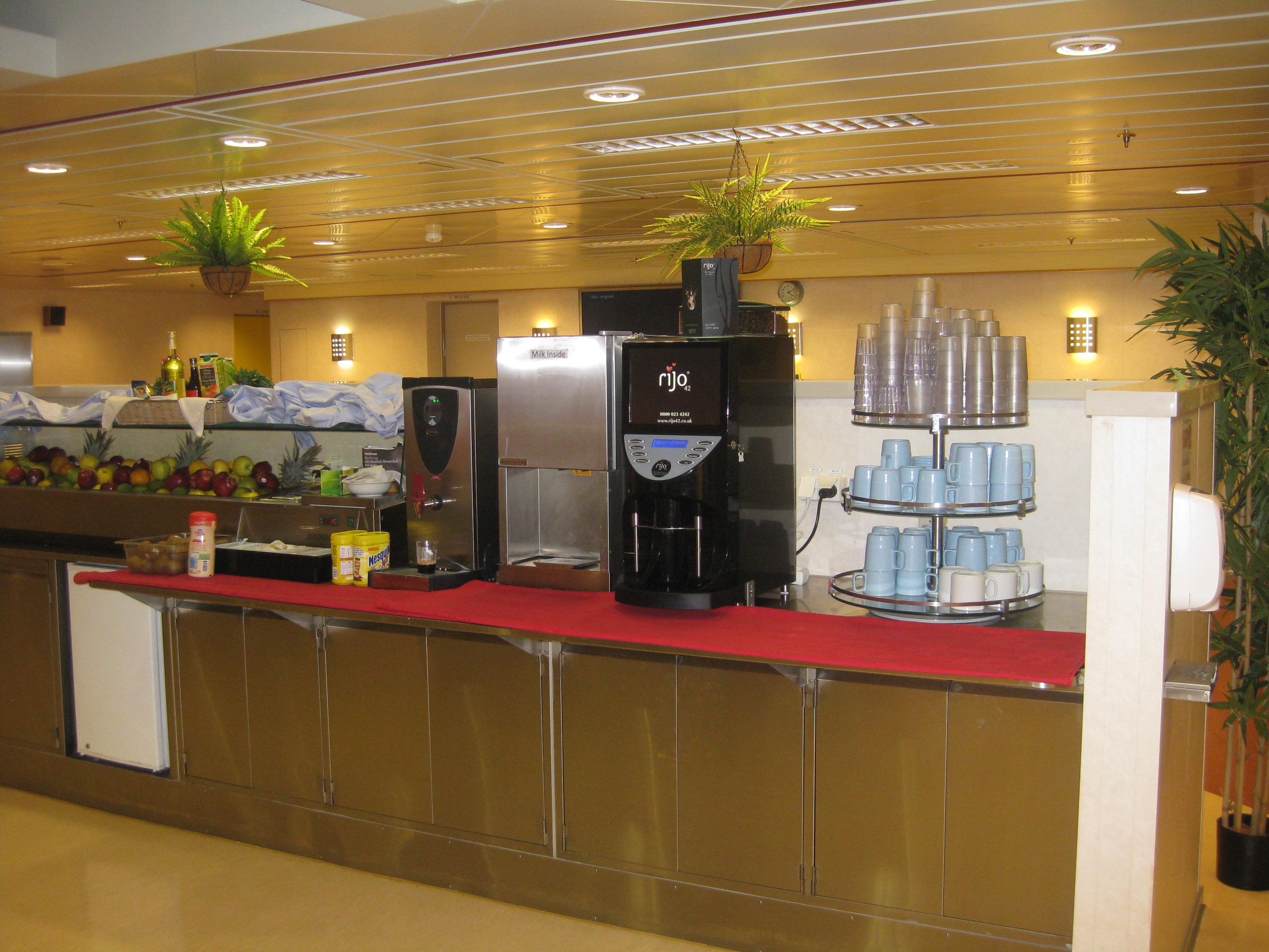 rijo42 Brasil Bean To Cup Coffee Machine Aboard Stena IceMax