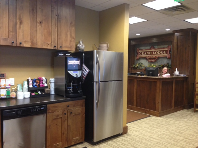 Brasil Commercial Coffee Machine At Grand Lodge on Peak 7