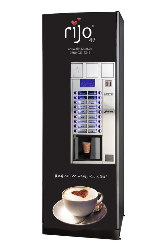 Cayenne LE Bean To Cup Coffee Vending Machine