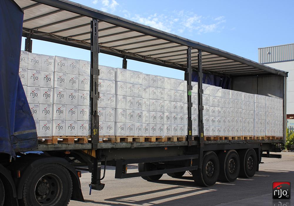 rijo42 Coffee Beans Shipment