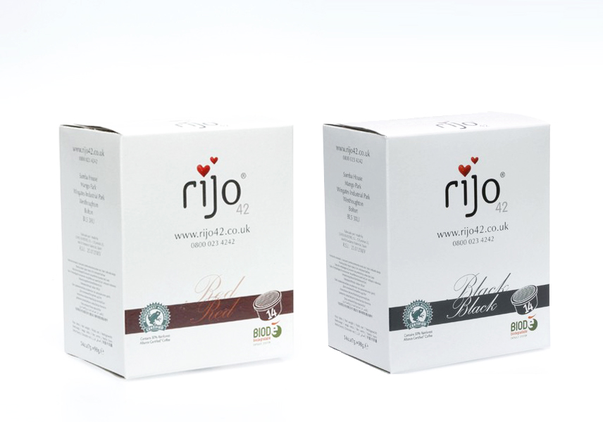rijo42 Red Blend & Black Blend Coffee Capsules