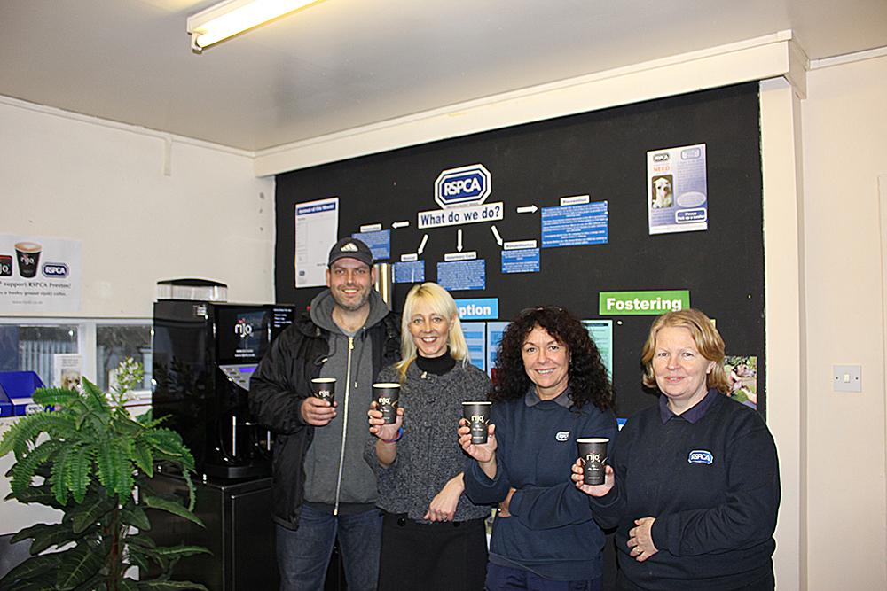 rijo42 Coffee at RSPCA Preston