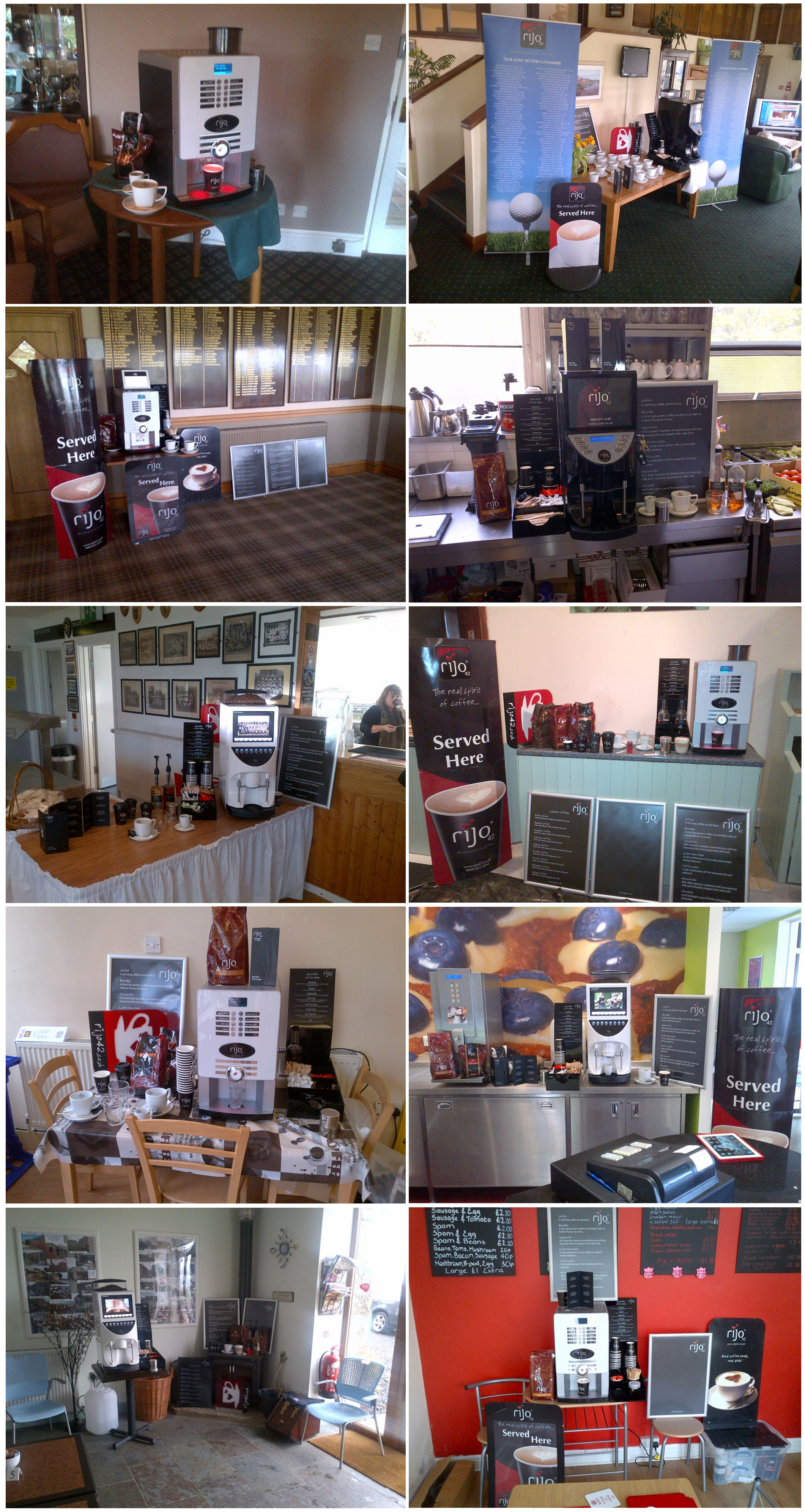 rijo42 Commercial Coffee Machine Demonstrations
