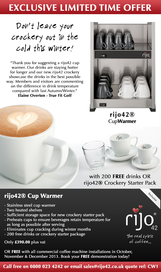 rijo42 Cup Warmer Special Offer