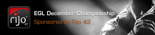 rijo42 Sponsors EGL December Championships