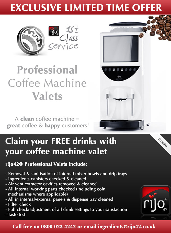 Professional Valets For Commercial Coffee Machines