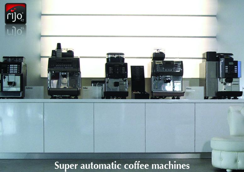 Super Automatic Cappuccino Machines