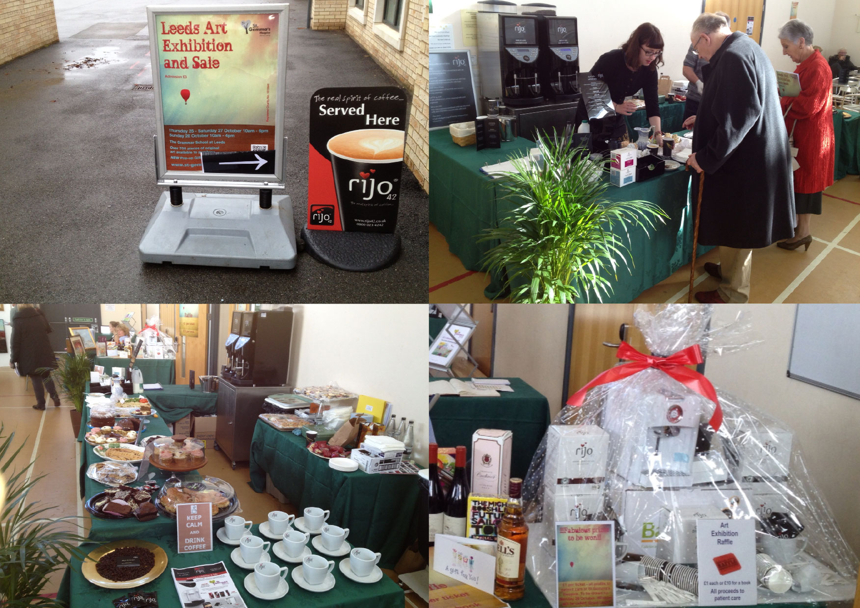 rijo42 Bean to Cup Coffee Machines At St Gemma's Hospice Annual Art Exhibition 2012