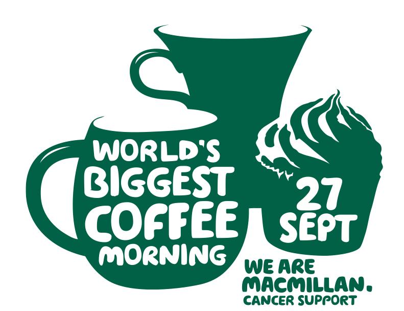 rijo42 Supports Macmillan World's Biggest Coffee Morning