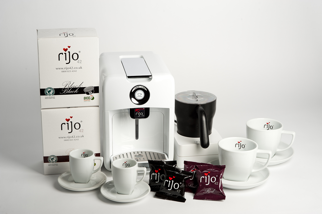 rijo42 coffee capsules rijo42 ingredients ltd. Black Bedroom Furniture Sets. Home Design Ideas