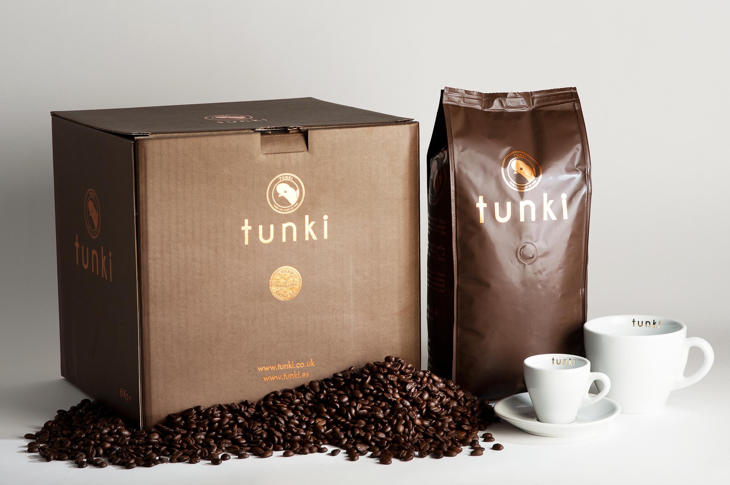 Tunki Award Winning Coffee