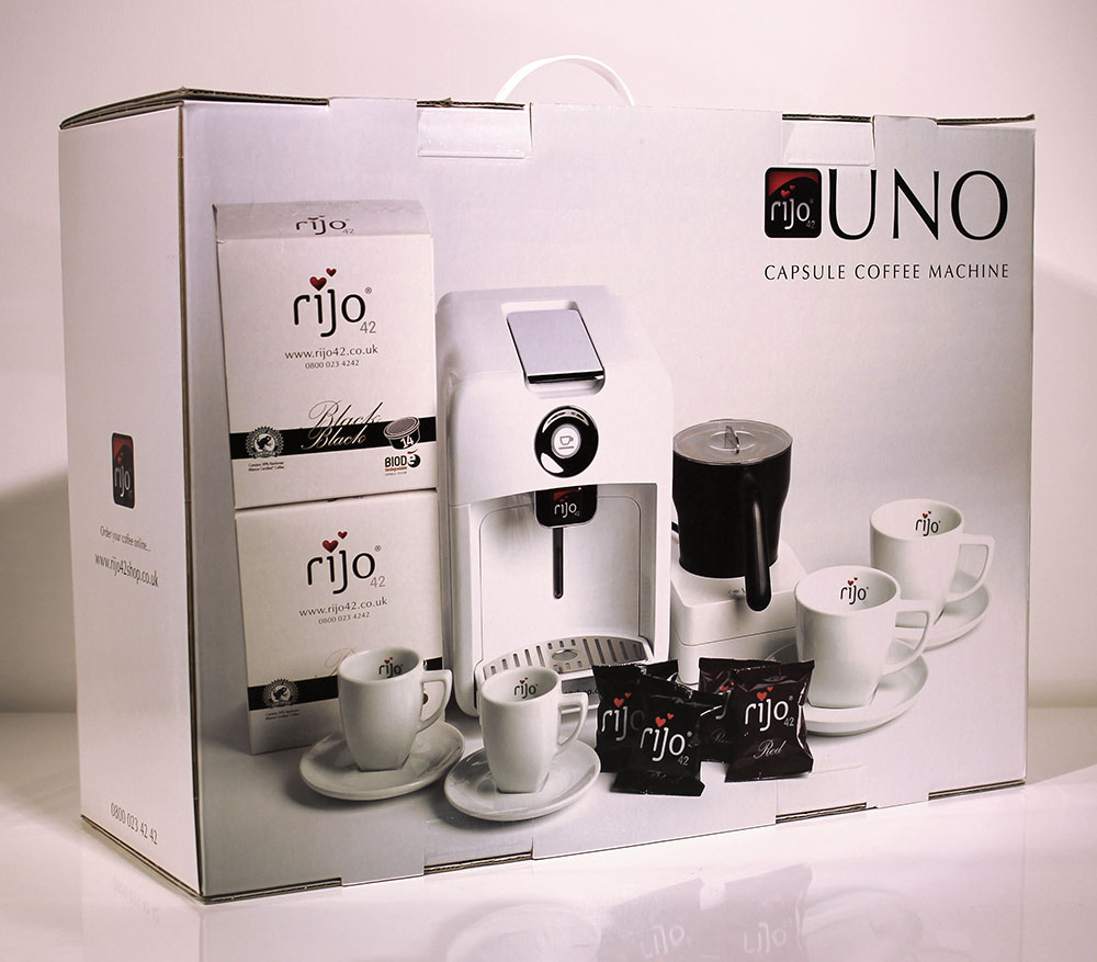 rijo42 Uno Home Coffee Machine Gift Pack