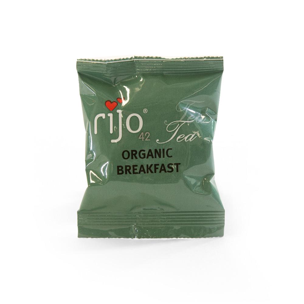 Organic tea capsules