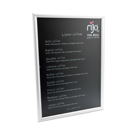 Product PromotionalMaterial liqueur coffees menu