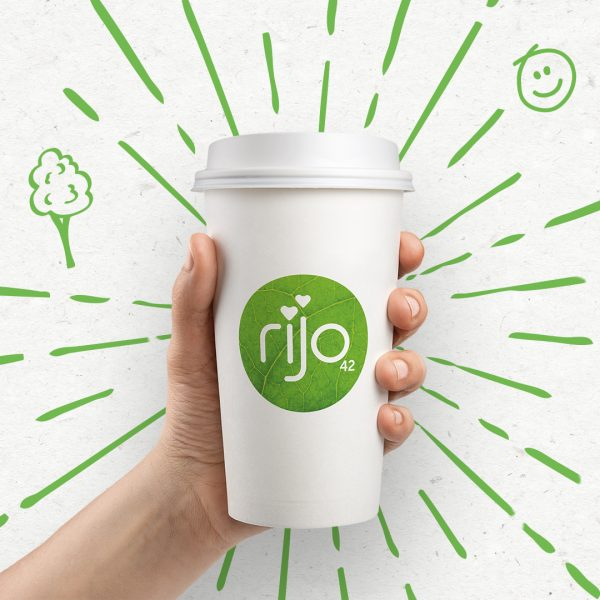 rijo42 Plastic Free Paper Cup
