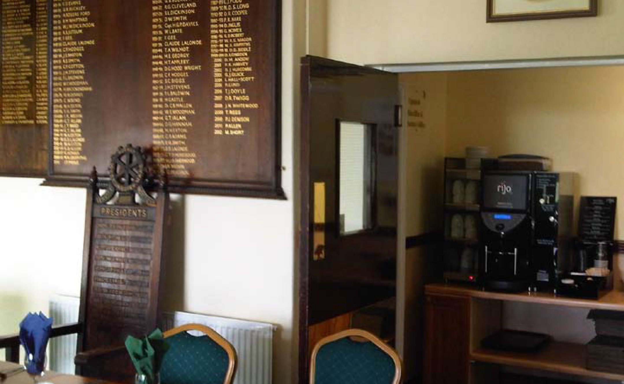 Golf Club Coffee Machines