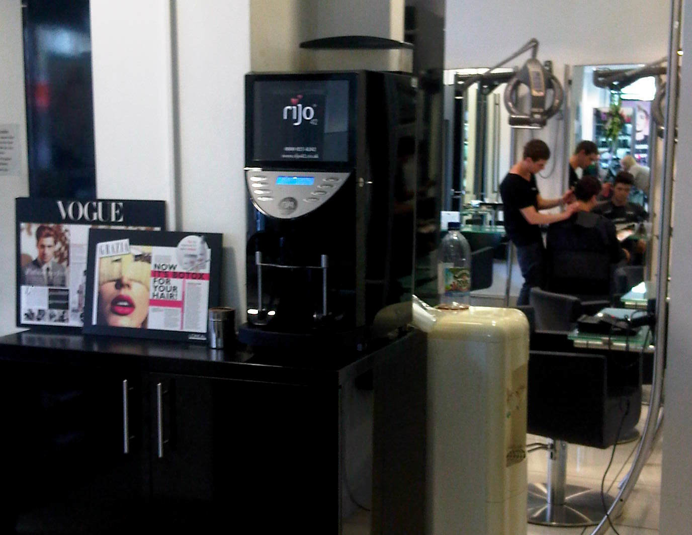 rijo42 Brasil Commercial Coffee Machine At Toni & Guy