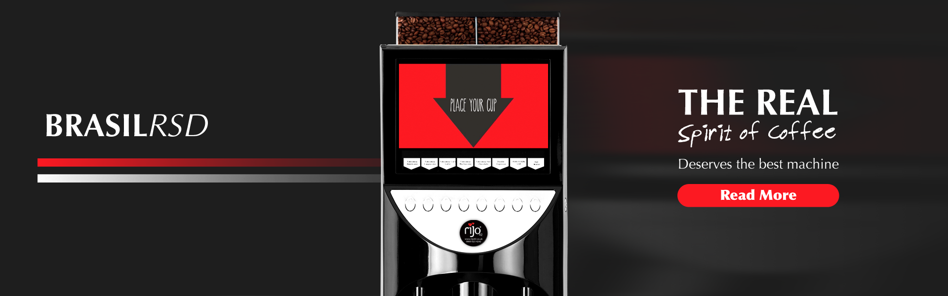 Brasil RSD Coffee Machine