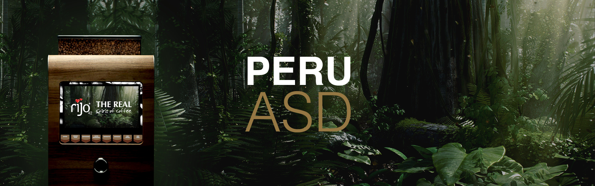 Peru ASD Coffee Machine