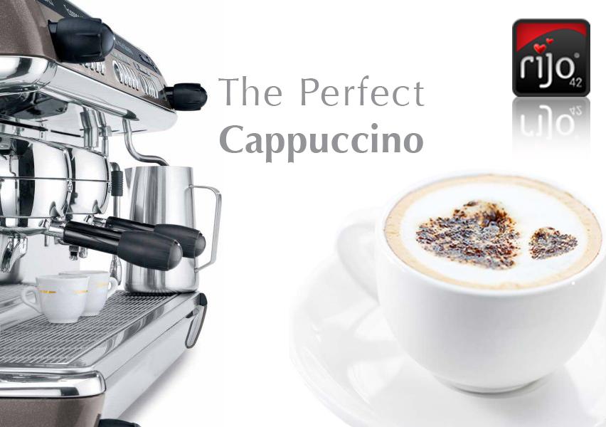 rijo42 Barista Skills - The Perfect Cappuccino