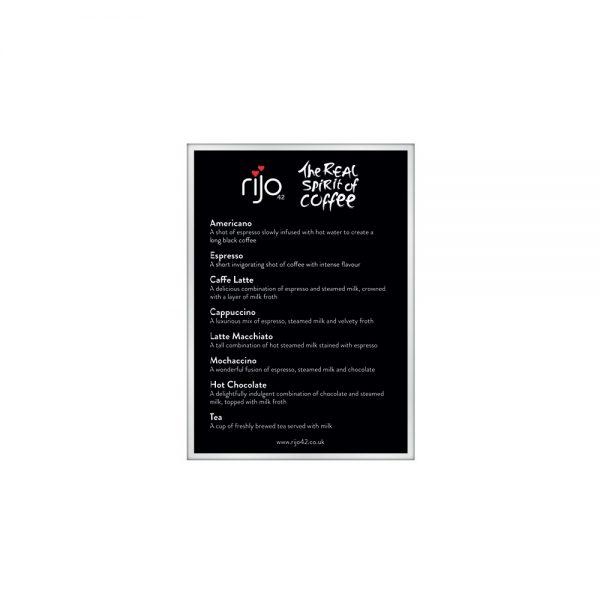 rijo42 coffee menu board