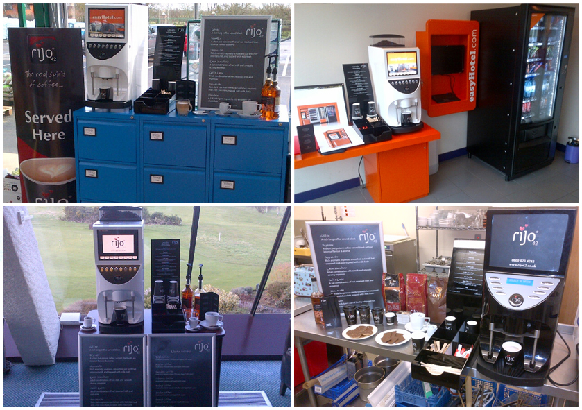 rijo42 Brasil On-Site Coffee Machine Demonstrations