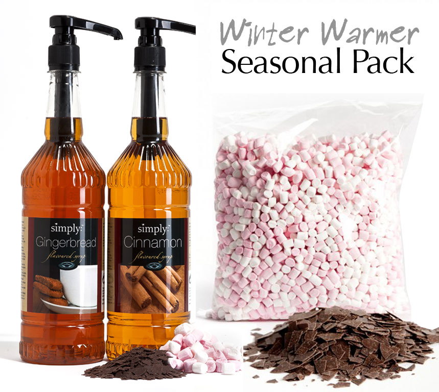 Winter Warmer Pack - Seasonal Flavoured Coffees