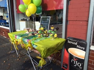 Hayley's Sandwich Shop in Rotherham doing their bit to beat cancer