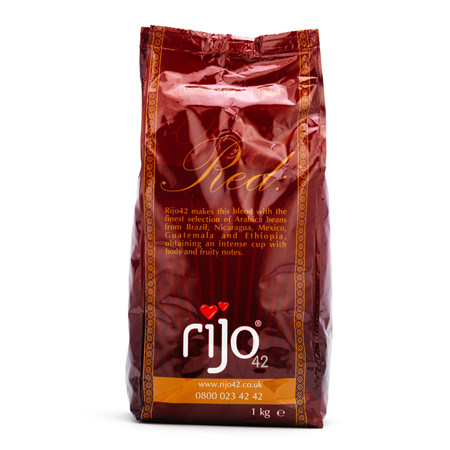 rijo red coffee beans