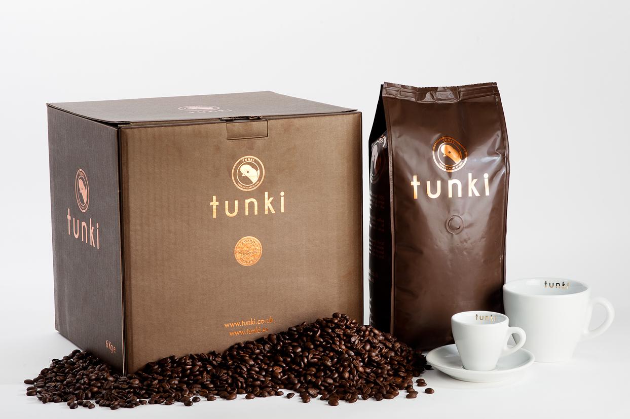 Award Winning Tunki Coffee Beans