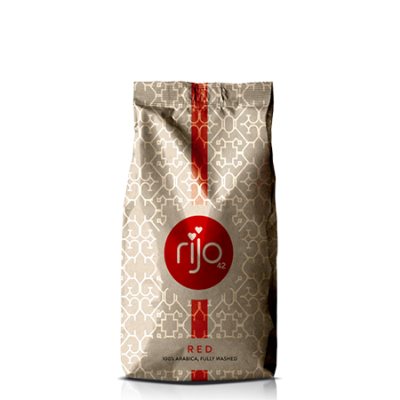 rijo42 Red Coffee Beans 500g