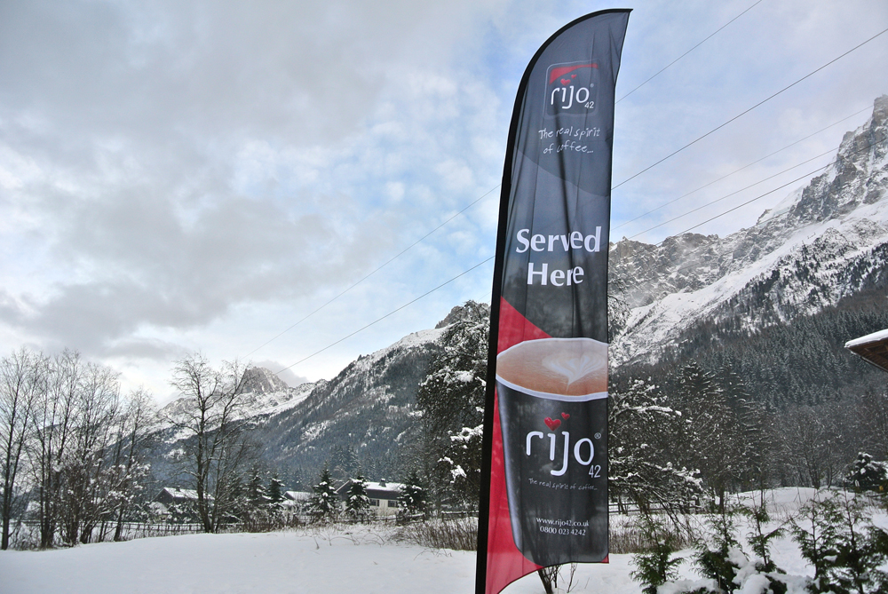 rijo42 Flag in Swiss Alps